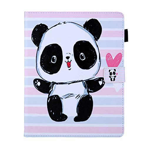 JIan Ying Case for Samsung Galaxy Tab A6 10.1' SM-T580 T585 Slim Lightweight Protector Cover Striped panda