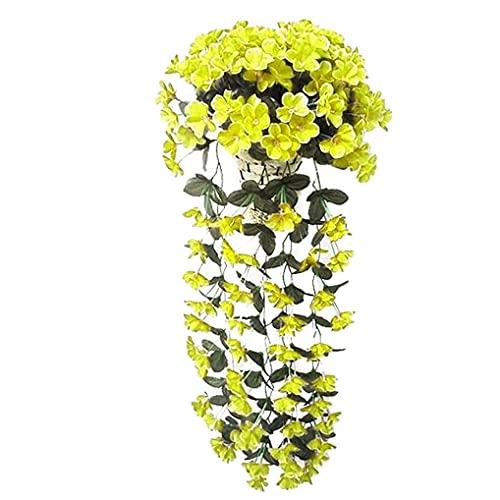 YOYHX Künstliche Blumen Deko Blumen künstliche Pflanzen Gartendeko Gefälschte Blumen für Hochzeiten, Haus, Garten, Party, Hochzeitsdeko (C)