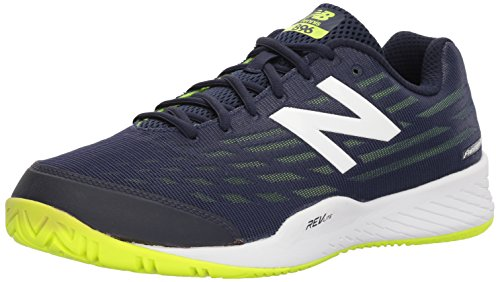 New Balance Men's 896v2 Hard Court Tennis Shoe, Navy, 11 D US