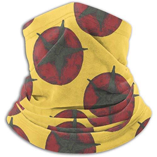 Linger In Mikrofaser Nackenwärmer-Halsmanschette Tube, Ohrenwärmer Stirnband Gesichtsmaske rote Tomaten Muster gezeichnet von