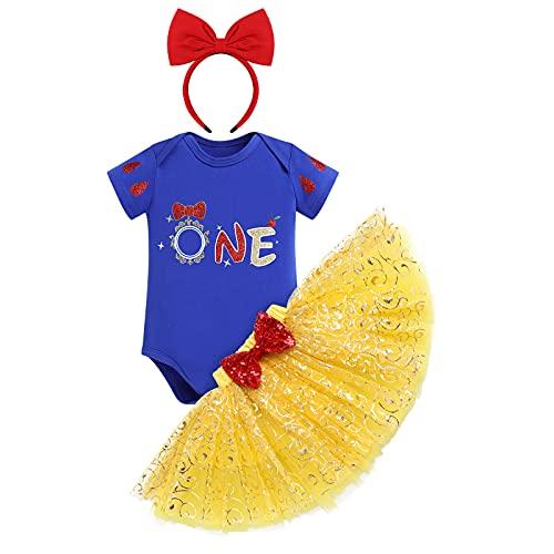 FYMNSI Disfraz de princesa de hadas para beb y nia, 1/2, 2, 3, fiesta de cumpleaos