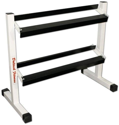 Deltech Fitness 36' Two-Tier Dumbbell Rack