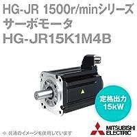 三菱電機(MITSUBISHI) HG-JR15K1M4B サーボモータ HG-JR 1500r/minシリーズ 400Vクラス 電磁ブレーキ付 (低慣性・大容量) (定格出力容量 15kW) NN