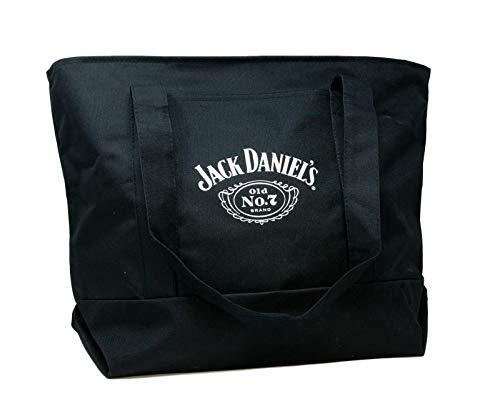 Jack Daniel's Classic Boat Tote - Box Stitched Logo auf der Vorderseite - 25.5