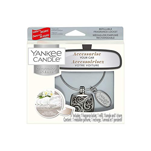 Yankee Candle Charming Scents Starter Kit, Fluffy Towels, Square