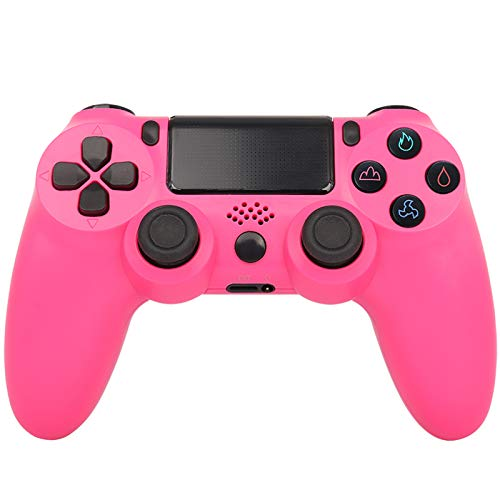 CNMLGB Wireless Controller für PS4 Slim/PS4 Pro,USB Controller für PC,Bluetooth Gamepad mit Dual-Vibration Audiofunktionen Playstation Controller Joystick - Crackle Style,R3