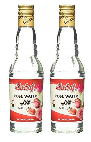 Sadaf Rose Water (Lebanon) 10 oz. ( Pack of 2 )