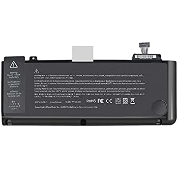 Easy&Fine Replacement A1322 Laptop Battery for MacBook Pro 13 inch A1278 Battery  2012 2011 2010 2009 Version  MB990LL/A MB991ll/A MC374ll/A MC375LL/A MC700ll/A MD101LL/A MD102LL/A