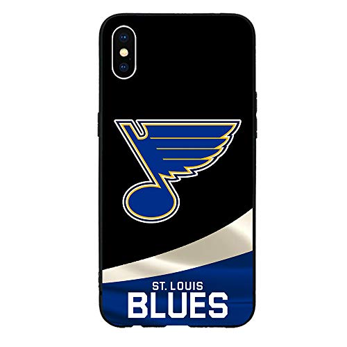 Liquid Silicone Case Compatible with iPhone XR,Hockey Game Ice Sports Gel Rubber Full Body Protection Shockproof Cover Case Drop Protection Cell Phone Shell Oct18 199