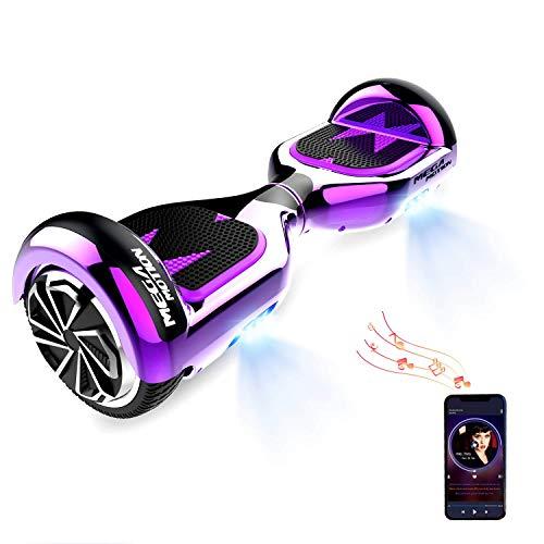 HITWAY Hoverboard Bluetooth 6,12 Pulgadas Scooter eléctrico Self Balance Scooter E Hover Board para niños y Adolescentes