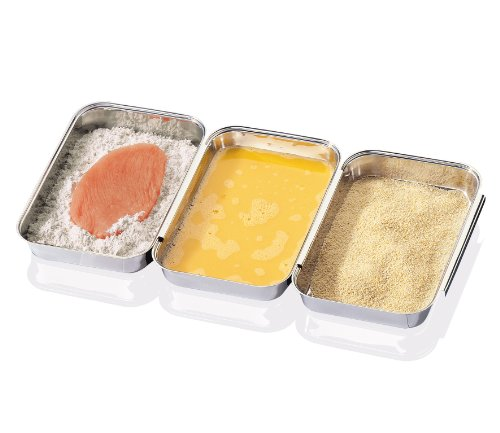 stainless steel breading tray - 4