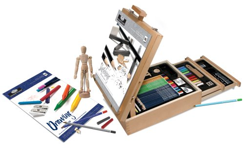 Royal & Langnickel REA6250- Kit de dibujo con caballete
