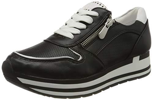 MARCO TOZZI Damen 2-2-23717-34 Sneaker, Schwarz (Black Comb 098), 37 EU