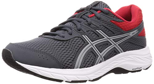ASICS Herren Gel-Contend 6 Running Shoe, carrier grey/sheet rock, 43.5 EU