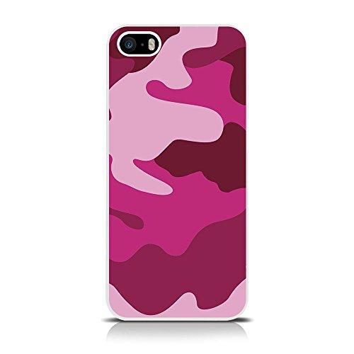 Call Candy Camo-Cover per Apple iPhone, SE/5s/5, Colore: Rosa