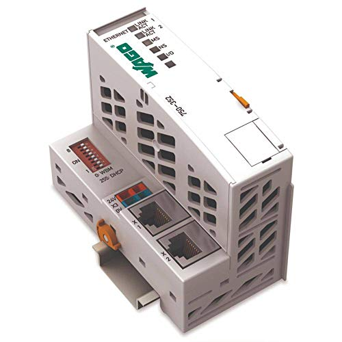 WAGO 750 – 352 – Digital & Analog I/O Modul (EG en 61000 – 3 en 61000 – 2 IEC 60068 – IEC 60068 – 2-6, 49.5 x 96.8 x 79.1 mm, grey, 0 – 55 °C,-25 – 85 °C, 0 – 95%)