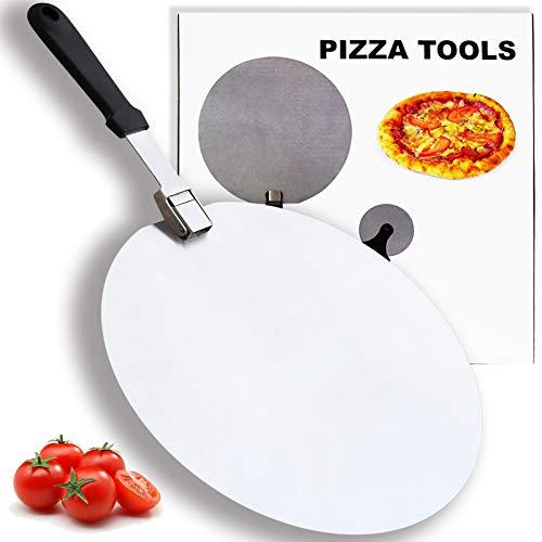 Tappetino da pasticceria in gomma di silicone per impastare, antiaderente, con misure indicate, per dolci, biscotti, pasta, pizza e torte
