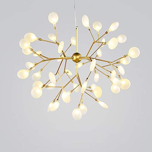 Wandlicht Lampe Diseñador de arte creativo blanco cálido 27/36/45/63 de lujo colgante de Hoja de...
