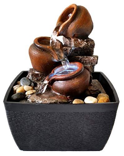 Agorà Import Zen Fountain for Indoor Jars