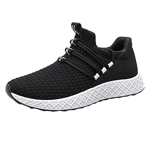 JiaMeng Zapatos de Seguridad para Hombre con Puntera de Acero Zapatillas de Seguridad Trabajo, Calzado de Industrial y Deportiva
