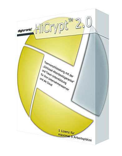 HiCrypt(TM) 2.0 - Digitaler Datentresor für Jedermann -