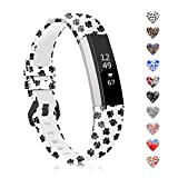 ZEROFIRE Band Compatible with Fitbit Alta and Alta HR Replacement Wristband Adjustable Silicone Sports Watch Band...