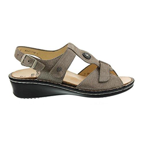 FinnComfort Damen Sandaletten Adana Sandalette 2660/537189 grau 308697