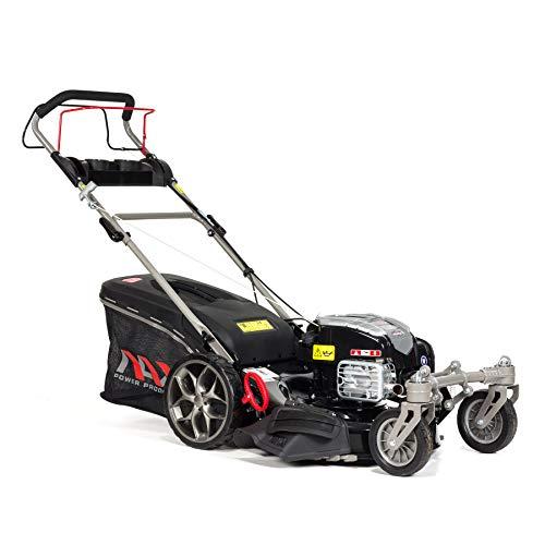 NAX POWER PRODUCTS 3000S Briggs & Stratton Serie 675Xi 163 cm3 ReadyStart Ancho de Corte Cesta 75l Ruedas giratorias Delanteras cortacésped a Gasolina con propulsión, Negro, NAX3000S 675EX
