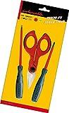 Intercable Set-F1 16020 Futur 2 - Paquete de destornilladores y tijeras
