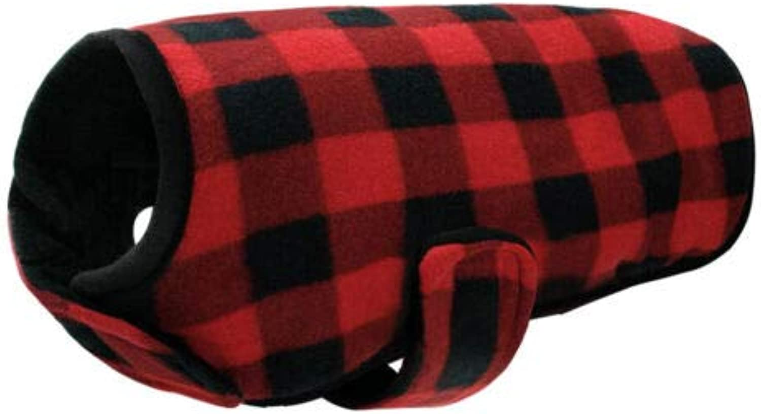 FidgetGear Large Dog Winter Coat Cozy Dog Clothes Apparel Outfits Windproof Clothing Red S