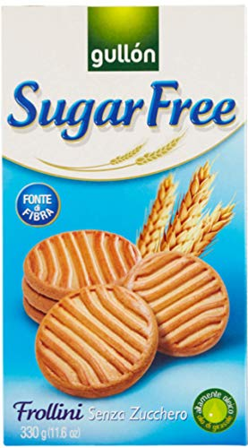 Biscotti frollini senza zucchero Gullon Confezione da 10 x 330 g