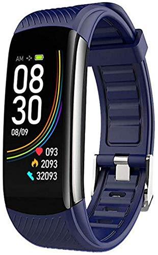 Reloj inteligente impermeable IP68, pantalla táctil, pulsera inteligente fitness actividad, Android / lOS
