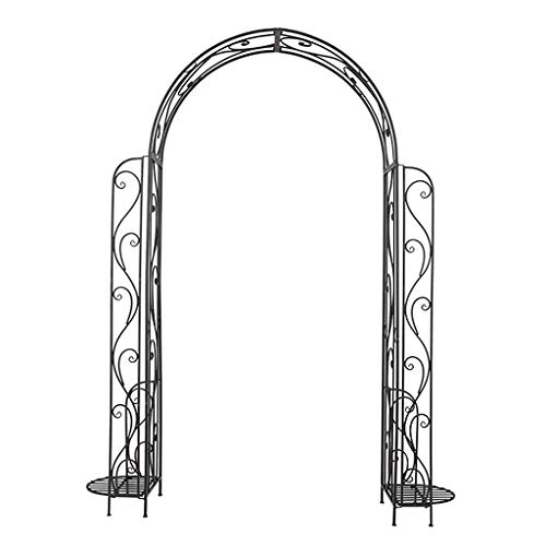 QLLL Classical Style Garden Arch, Decorative Arch, for Roses Climbing Plants Support Pergola Archway Garden Decoratio