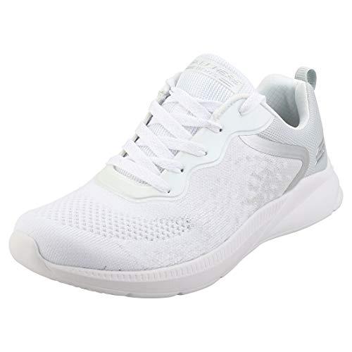 Skechers Damen Ariana-Metro Racket Sneaker, Weiß (White Engineered Knit Wht), 40 EU