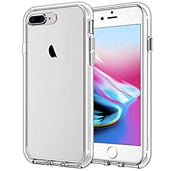 JETech Case Compatible with iPhone 8 Plus and iPhone 7 Plus 5.5-Inch Shockproof Bumper Cover Anti-Scratch Clear Back Ultra HD