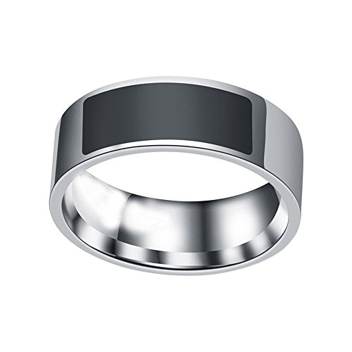 Multifunctional NFC Smart Ring 2019 New Waterproof Intelligent Magic Smart Ring Universal Wear Finger Digital Ring for Samsung, Huawei, Android and NFC Cellphone Mobile Phone (10)
