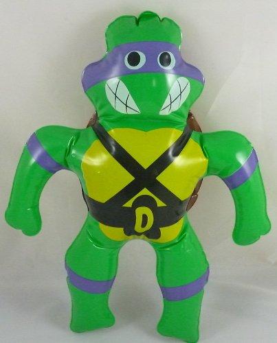 40cm Vintage Teenage Mutant Ninja Turtles Inflatable Toy - Purple Turtle - Donatello