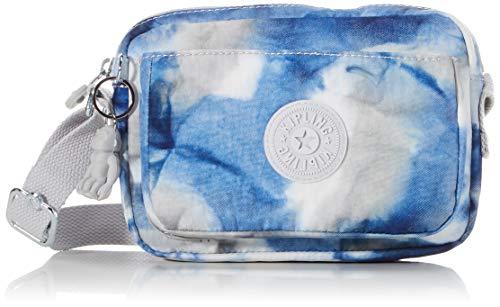Kipling Abanu, Bolsos con Bandolera para Mujer, Multicolor (Tie Dye Blue), 20x13.5x7.5 cm