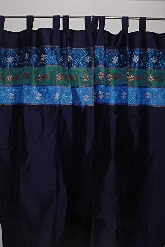 Marrakech Accessoires Orientalischer Vorhang Schlaufen Schal Bestickt 110 cm x 235 cm (1 Stück) - 905306-0021