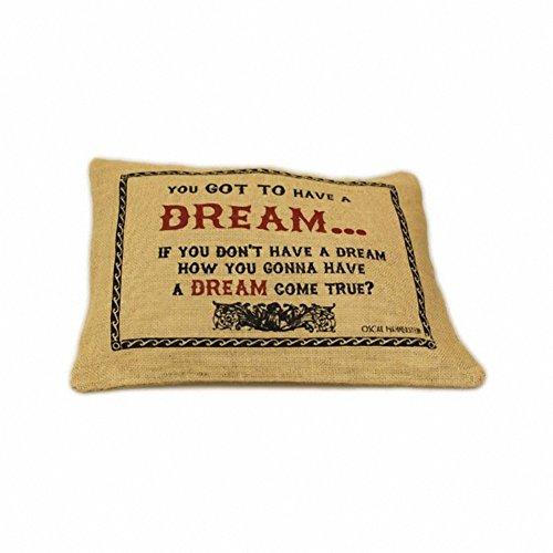 Jute Cushion Cover - Dream