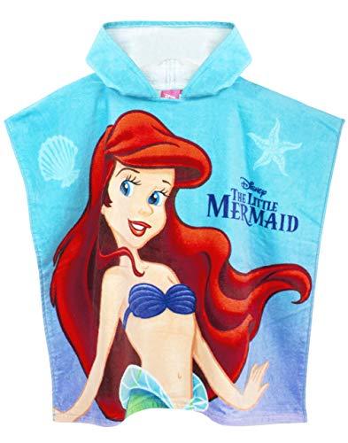 Disney La Sirenita Toalla con Capucha Poncho Traje de baño para niña Cover Up