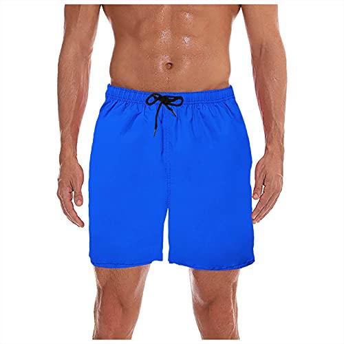 TWIOIOVE Bañador para Hombre Shorts de Baño Shorts de Playa Traje de Baño para Natación Secado Rápido para Vacaciones M-XXXL
