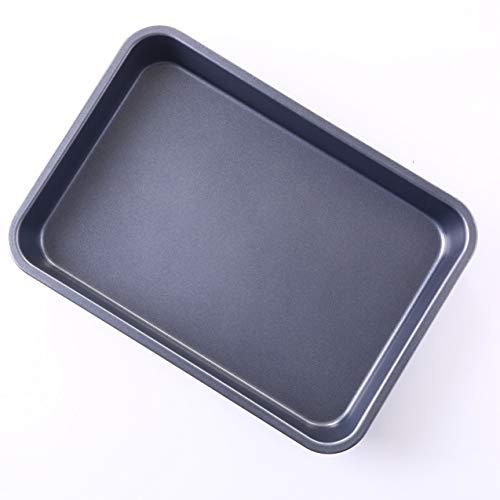 OJelay Rectangular Cake Pan 13x9 Inch Nonstick Carbon Steel Deep Dish Quarter Sheet Cookie Baking Pan