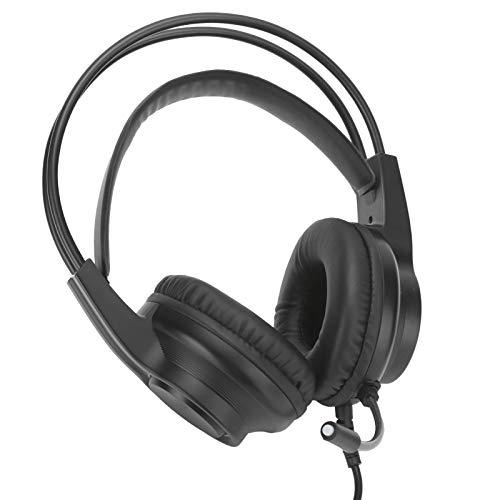 Shipenophy Stereo-Headset, All-Inclusive-Schallschutz-Ohrenschützer 3,5-MM-Gaming-Headset zum Musikhören