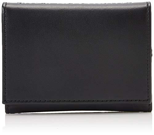 Calvin Klein Logo Pop Fold Card Case - Borse a spalla Uomo, Nero (Infinite Black), 1x1x1 cm (W x H L)