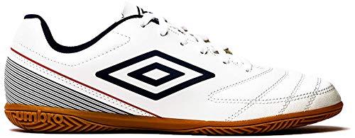 UMBRO Herren Classico Vii Ic Fußballschuhe, Weiß (White/Dark Navy/Vermillion D62), 44.5 EU