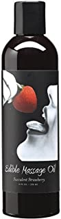 Succulent Strawberry Edible Massage Oil - 2 Oz. by Earthly Body