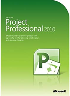 Microsoft Project Professional 2010, FR - Software de gerencia de proyecto (FR, 2000 MB, 512 MB, 700 MHz, ENG)