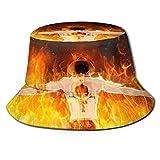 Sombrero de Pescador de una Pieza de Anime, Sombrero para el Sol, protección Ultravioleta y Transpirable, Gorra de Cubo de ala Ancha para Exteriores-TG9