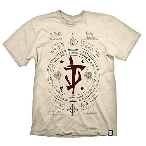 """DOOM Eternal T-Shirt \""""Doomslayer Runes\"""" Size XL"""